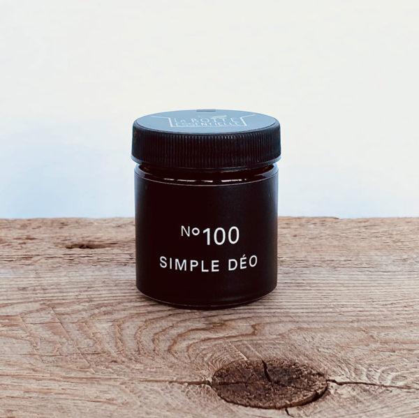 Simple déo no 100