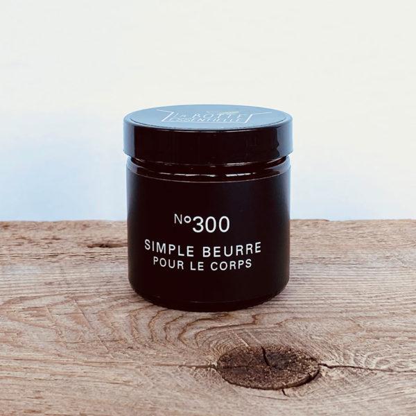 Simple beurre pour le corps no 300
